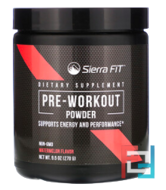 Pre-Workout Powder, Sierra Fit, 9.5 oz, 270 g