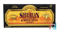 Siberian Eleuthero & Royal Jelly Extract, Alcohol Free, Imperial Elixir, 4000 mg, 30 Bottles, 0.34 fl oz (10 ml) Each