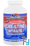 Creatine Nitrate, APS Nutrition, 200 Capsules