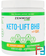 Keto-Lift BHB, Beta-Hydroxybutyrate, Raspberry Lemonade, Zenwise Health, 8.18 oz, 232 g