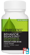 Behavior Balance-DMG, FoodScience, 120 Capsules