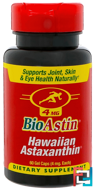 BioAstin, 4 mg, Nutrex Hawaii, 60 Gel Caps