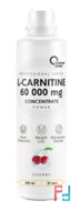 L-Carnitine Concentrate 60000 POWER, Optimum System, 500 ml