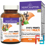 Every Man's One Daily Multi, New Chapter, 72 Tablets