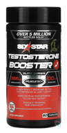 Testosterone Booster, Elite Series, Six Star, Six Star Pro Nutrition, 60 Caplets
