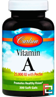 Vitamin A, 25,000 IU, Carlson Labs, 300 Softgels