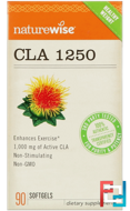 CLA 1250, NatureWise, 90 Softgels