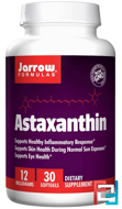 Astaxanthin, Jarrow Formulas, 12 mg, 30 Softgels