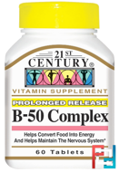 B-50 Complex, 21st Century, 60 Tablets