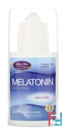 Melatonin Body Cream, Life Flo Health, 3 mg, 57 g