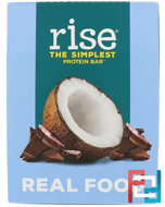 The Simplest Protein Bar, Chocolatey Coconut, Rise Bar, 12 Bars, 2.1 oz (60 g) Each