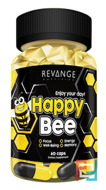 Happy Bee, Revange Nutrition, 60 capsules