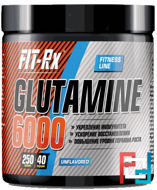 Glutamine 6000, FIT-Rx, 250 g