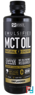 Emulsified, MCT Oil, Unflavored, Sports Research, 16 fl oz (473 ml)