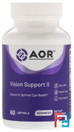 Classic Series, Vision Support II, Advanced Orthomolecular Research AOR, 60 Softgels