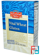 Vital Wheat Gluten, Arrowhead Mills, 10 oz (283 g)