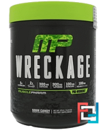 Wreckage Pre-Workout, MusclePharm, 13.23 oz, 375 g