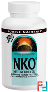 NKO, Neptune Krill Oil, 500 mg, Source Naturals, 60 Softgels
