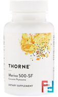 Meriva 500 - SF, Soy Free, Thorne Research, 60 Vegetarian Capsules