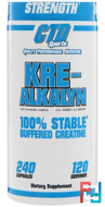 Kre-Alkalyn Buffered Creatine, CTD Sports, 240 Capsules