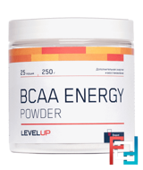 BCAA Energy, Level UP,  252 g
