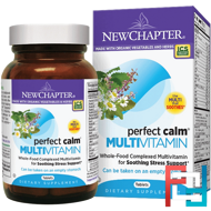 Perfect Calm Multivitamin, New Chapter, 144 Tablets