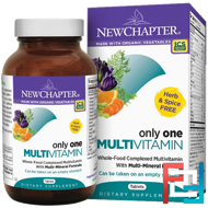 Only One Multivitamin, New Chapter, 72 Tablets