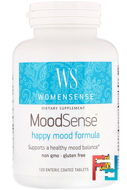 WomenSense, MoodSense, Happy Mood Formula, Natural Factors, 120 Enteric Coated Tablets