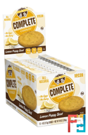 The Complete Cookie, Lemon Poppy Seed, Lenny & Larry's, 12 Cookies, 4 oz (113 g) Each