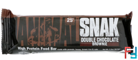 Animal Snak Bar, Universal Nutrition, Double Chocolate Brownie, 1 bar * 94.6 g