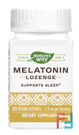 Melatonin Lozenge, Nature's Way, 2.5 mg, 100 Lozenges