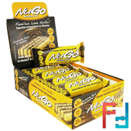 Nutrition To Go, Peanut Butter Chocolate Bars, NuGo Nutrition, 15 Bars, 1.76 oz (50 g) Each
