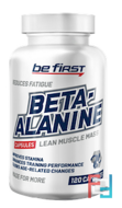 Beta alanine, Be First, 120 capsules