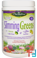 Slimming Greens, Paradise Herbs, 6.4 oz, 182 g