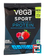 Performance Protein Drink Mix, Sport, Vega, 1.5 oz, 42 g