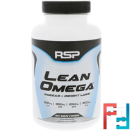 Lean Omega, Omegas + Weight Loss, RSP Nutrition, 60 Softgels