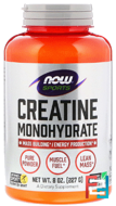 Creatine Monohydrate, Powder, Sports, Now Foods, 227 g