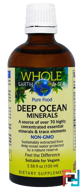 Whole Earth & Sea Deep Ocean Minerals, Natural Factors, 3.38 fl oz (100 ml)