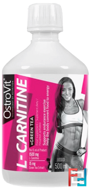 L-Carnitine + Green Tea, OstroVit, 500 ml