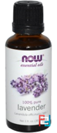 Essential Oils, Lavender, Now Foods, 30 ml