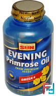 Evening Primrose Oil, Omega-6, Health From The Sun, 500 mg, 180 Mini Softgels