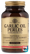 Garlic Oil Perles, Concentrate, Solgar, 250 Softgels