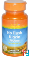 No Flush Niacin, Thompson, 500 mg, 30 Veggie Caps
