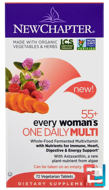 55+ Every Woman's One Daily Multi, New Chapter, 72 Veggie Tabs