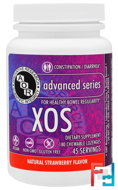 XOS, Natural Strawberry Flavor, Advanced Orthomolecular Research AOR, 180 Chewables