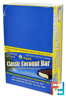 Organic, Classic Coconut Bar, Coconut Secret, 12 Bars, 1.75 oz (50 g) Each