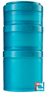 BlenderBottle, ProStak, Expansion Pak, Teal, Sundesa, 4 Pieces