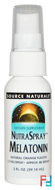 NutraSpray Melatonin, Source Naturals, Natural Orange Flavor, 2 fl oz, 59.14 ml