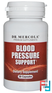 Blood Pressure Support, Dr. Mercola, 30 Capsules