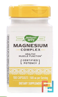 Magnesium Complex, Nature's Way, 100 Capsules
